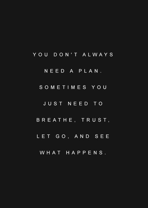 Trust what you have