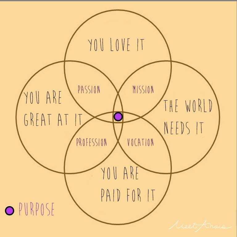 Finding Your Purpose The Magical Venn Zebraa